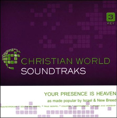 Your Presence is Heaven, Acc CD   -     By: Israel & New Breed