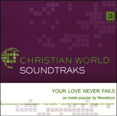 Your Love Never Fails Acc, CD  -     By: Newsboys