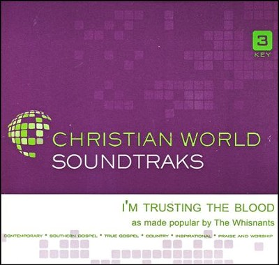 I'm Trusting the Blood Acc, CD  -     By: The Whisnants