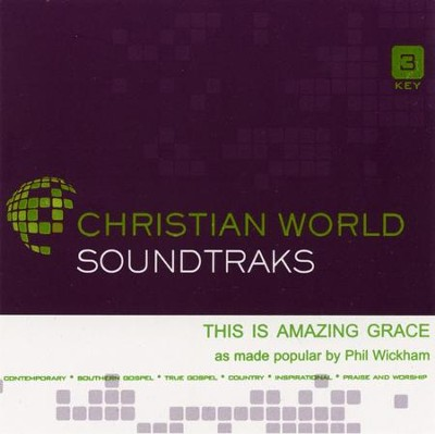 This is Amazing Grace, Acc CD   -     By: Phil Wickham