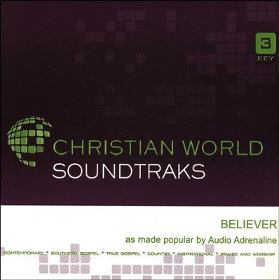 Believer Acc, CD  -     By: Audio Adrenaline