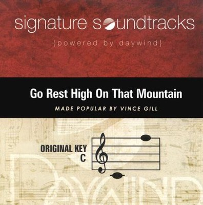 Go Rest High On That Mountain, Accompaniment CD   -     By: Vince Gill