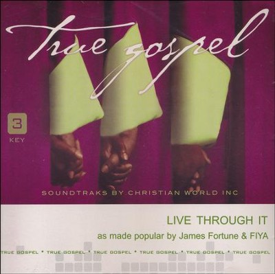 Live Through It, Acc CD   -     By: James Fortune & FIYA