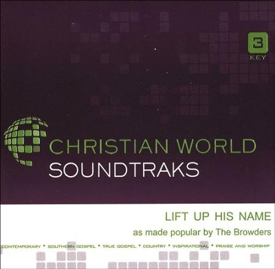 Lift Up His Name Acc, CD  -     By: The Browders