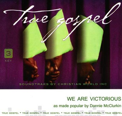 We Are Victorious Acc, CD  -     By: Donnie McClurkin