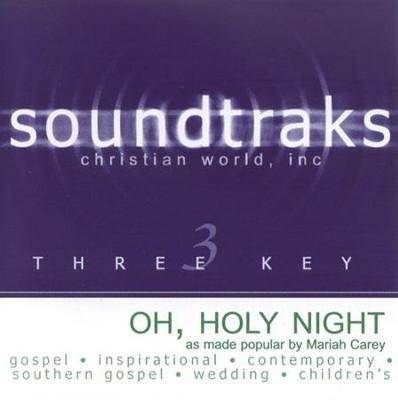 Oh Holy Night, Accompaniment CD   -     By: Mariah Carey