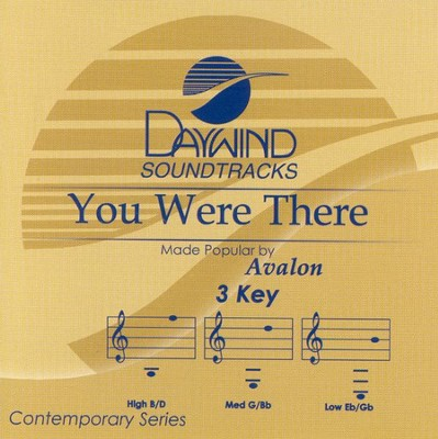 You Were There, Accompaniment CD   -     By: Avalon