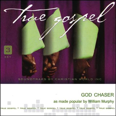 God Chaser Acc, CD  -     By: William Murphy