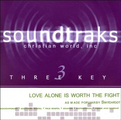 Love Alone is Worth the Fight Acc, CD  -     By: Switchfoot