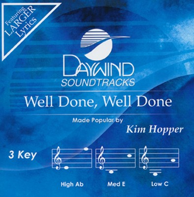 Well Done, Well Done, Acc CD   -     By: Kim Hopper