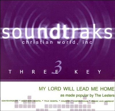 My Lord Will Lead Me Home Acc, CD  -     By: The Lesters