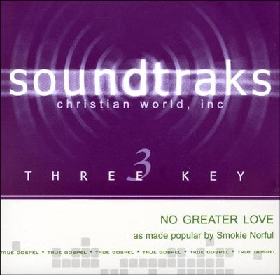 No Greater Love Acc, CD  -     By: Smokie Norful