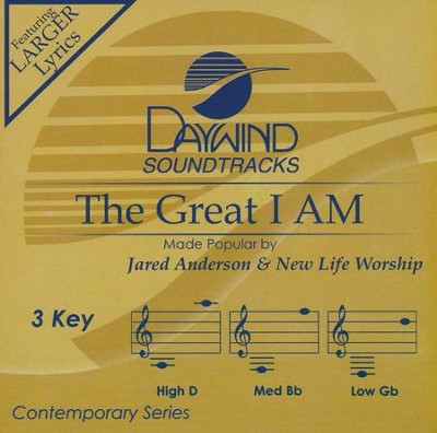The Great I Am   -     By: Jared Anderson