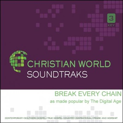 Break Every Chain, Acc CD   -     By: The Digital Age