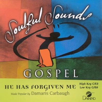 He Has Forgiven Me, Acc CD   -     By: Damaris Carbaugh
