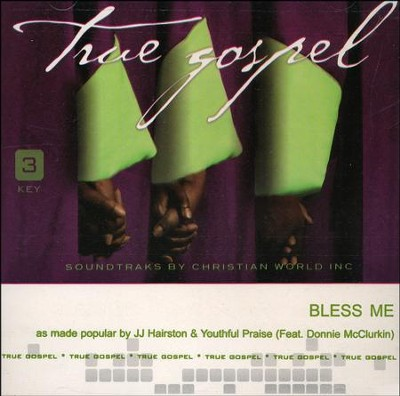 Bless Me, Acc CD   -     By: J.J. Hairston, Youthful Praise
