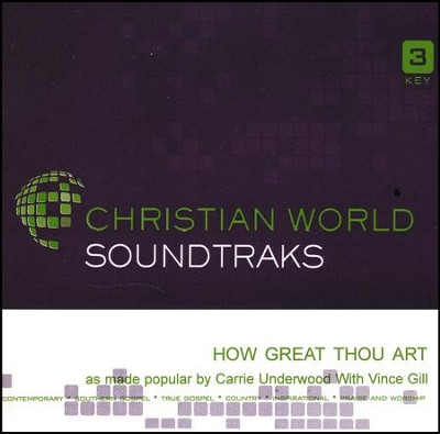 How Great Thou Art, Accompaniment CD   -     By: Carrie Underwood
