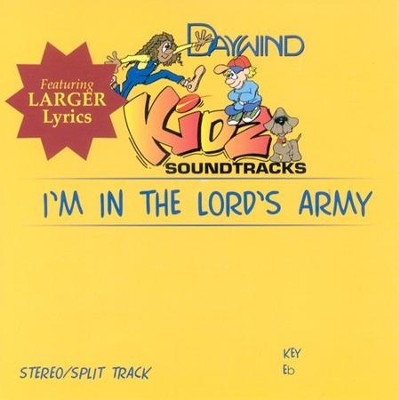 I'm In The Lord's Army, Accompaniment CD   -