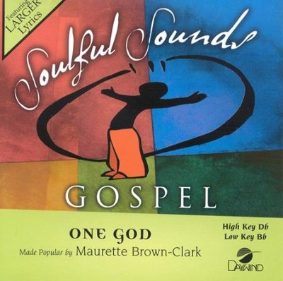One God, Accompaniment CD   -     By: Maurette Brown-Clark