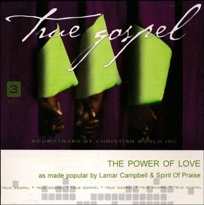 The Power of Love, Acc CD   -     By: Lamar Campbell, Spirit of Praise