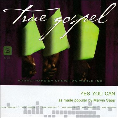 Yes You Can, Acc CD   -     By: Marvin Sapp