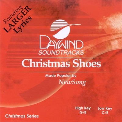 Christmas Shoes, Accompaniment CD   -     By: NewSong