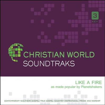 Like A Fire, Acc CD   -     By: Planetshakers