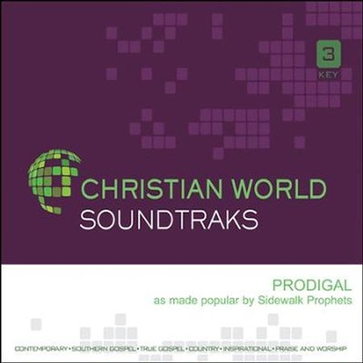 Prodigal, Acc CD   -     By: Sidewalk Prophets