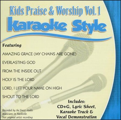 Kids Praise & Worship, Vol. 1, Karaoke CD   -