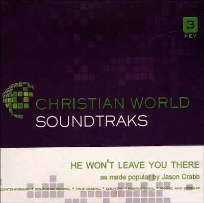 He Won't Leave You There, Acc CD   -     By: Jason Crabb