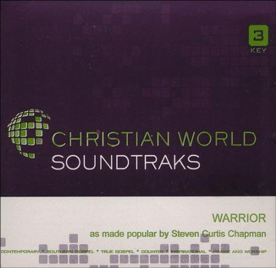 Warrior, Acc CD   -     By: Steven Curtis Chapman