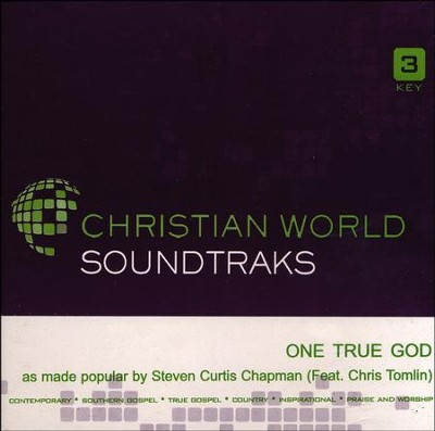One True God, Acc CD   -     By: Steven Curtis Chapman