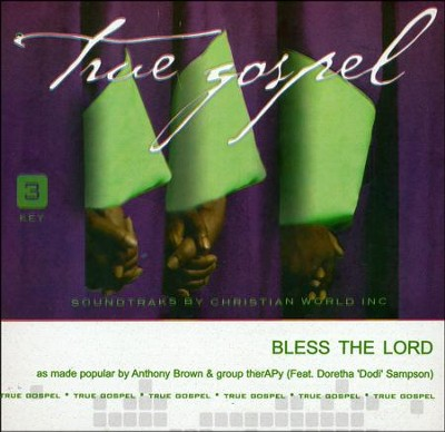 Bless The Lord, Acc CD   -     By: Anthony Brown & group therAPy