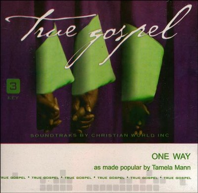 One Way, Acc CD   -     By: Tamela Mann