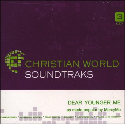 Dear Younger Me, Acc CD   -     By: MercyMe