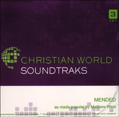 Mended, Acc CD   -     By: Matthew West