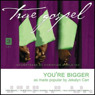 You're Bigger, Acc CD   -     By: Jekalyn Carr