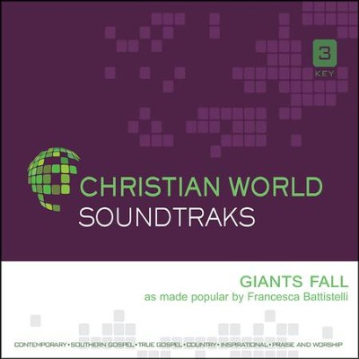 Giants Fall, Acc CD   -     By: Francesca Battistelli