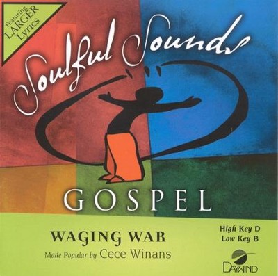 Waging War, Accompaniment CD   -     By: CeCe Winans