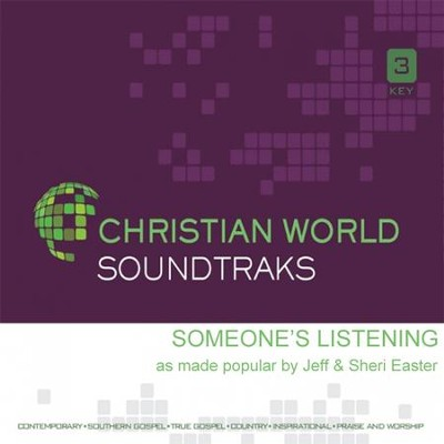 Someone's Listening, Acc CD   -     By: Jeff Easter, Sheri Easter