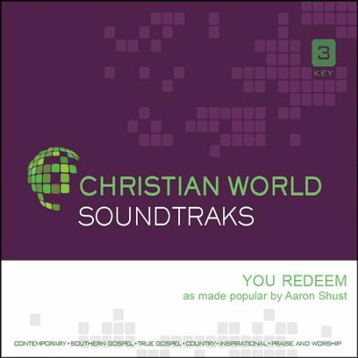 You Redeem, Accompaniment CD   -     By: Aaron Shust