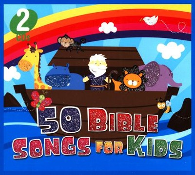 50 Bible Songs for Kids (2 CD Set)   -