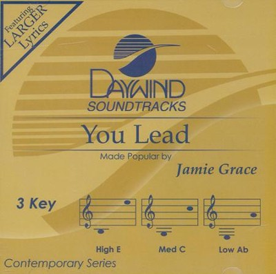 You Lead Acc, CD  -     By: Jamie Grace