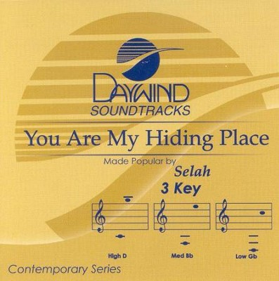 You Are My Hiding Place, Acc CD   -     By: Selah