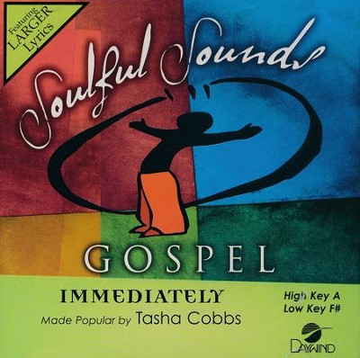 Immediately, Acc CD   -     By: Tasha Cobbs