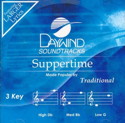 Suppertime Accompaniment CD   -