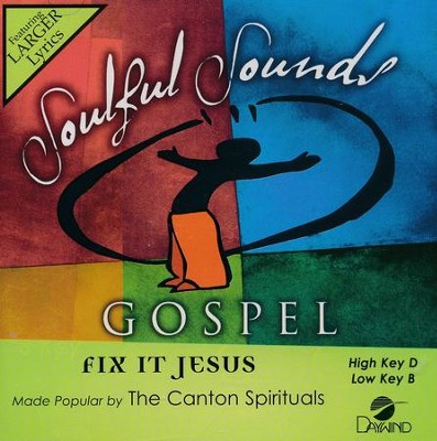 Fix It Jesus, Acc CD   -     By: The Canton Spirituals