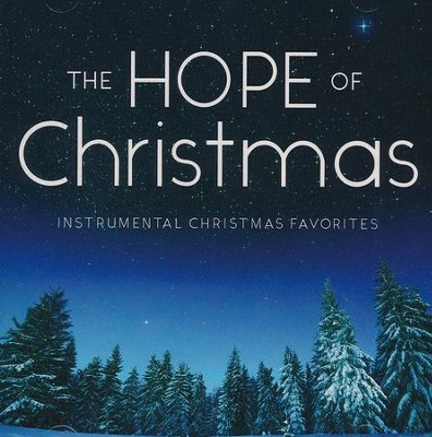 The Hope Of Christmas (Instrumental) CD   -