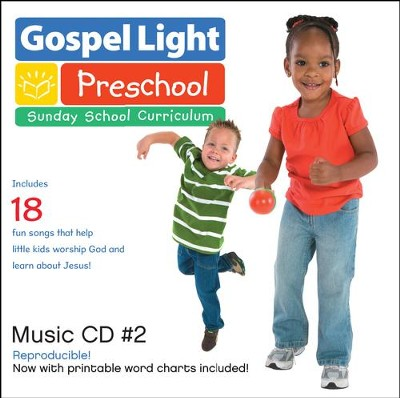 Preschool Music CD #2 Ages 2 & 3, Spring & Summer 2017, Year B  -