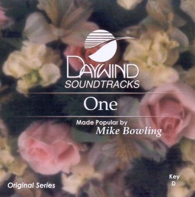 One, Accompaniment CD   -     By: Mike Bowling